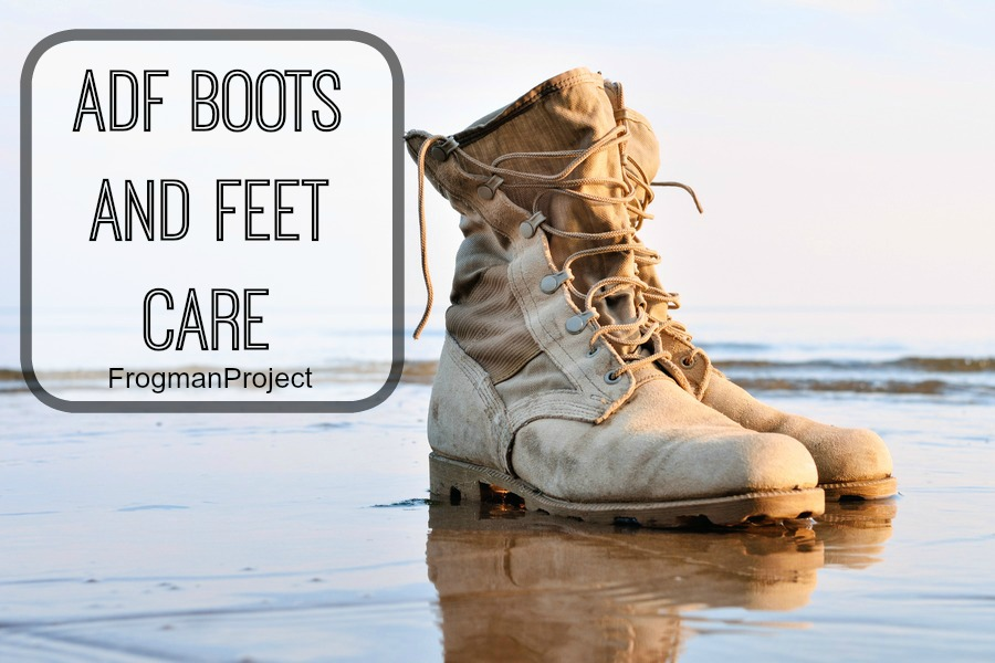 ADF boots and feet care!