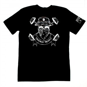 Frogman Project OG Tshirt back