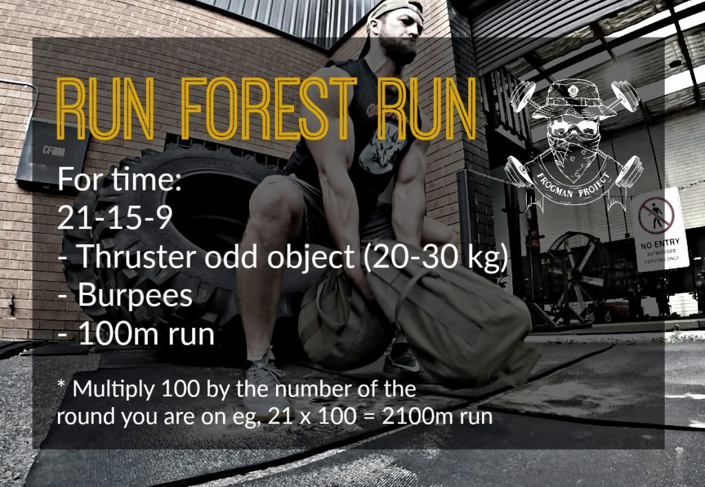 Frogman Project run forest run (1)